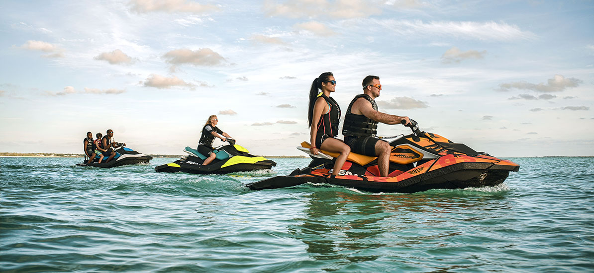 SeaDoo personal watercraft jetski