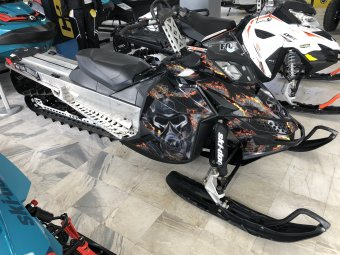 SKI-DOO SUMMIT X 163 800R PowerTEK Deep Black 2009 ВТОРА УПОТРЕБА