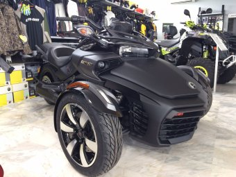 CAN-AM SPYDER F3 S 2017 DEMO UNIT