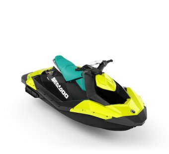 ВОДЕН ДЖЕТ BRP SEA-DOO SPARK 2 UP 90 IBR 2019 PINEAPPLE\CANDY BLUE