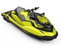 ПРОМО!!! ВОДЕН ДЖЕТ BRP SEA-DOO RXP-X 300 2019 Neon Yellow\ Lava Grey