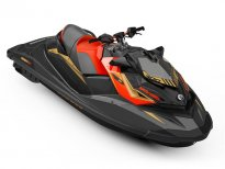 BRP SEA-DOO RXP-X 300 2019 Eclipse black\Lava red