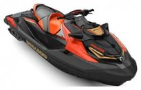 SEA-DOO RXT-X 300 XRS 2019 Eclipse black/Lava red